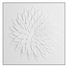 白色简约墙壁花纹模型素材