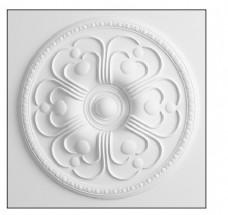 白色立体墙体花纹模型素材