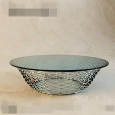 时尚创意玻璃透明茶几3d模型