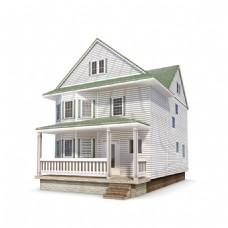 别墅洋房建筑模型下载