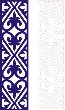 中式木雕边框古典图