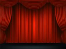 活动舞台背景矢量素材