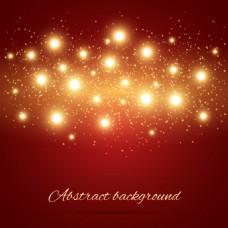 星光闪耀矢量背景