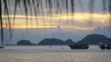越南海港日落