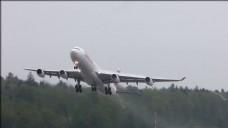 LX飞机起飞