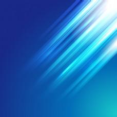 蓝色炫彩海报背景矢量