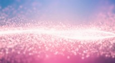 唯美紫色花朵淘宝全屏banner背景