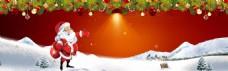 浪漫圣诞装饰背景