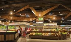 超市生鲜区效果图