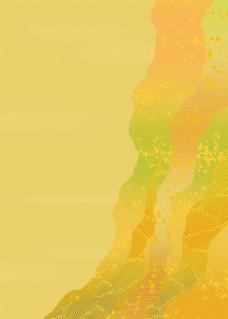 简约黄色水彩背景图