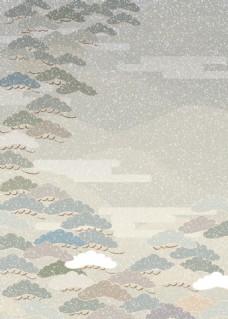 创意抽象彩云背景图
