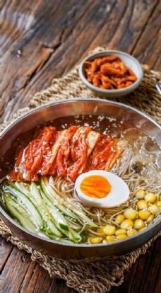 韩国风味泡菜冷面
