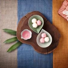 桌布木板甜食甜点
