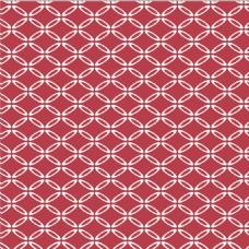 红色边框花纹无缝背景图