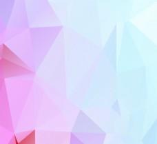 几何多边形炫彩背景矢量素材