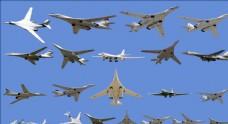 图160战略轰炸机合辑分层素材