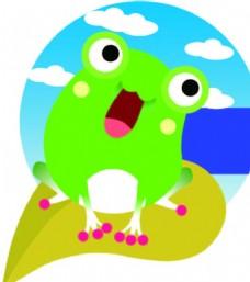 活泼可爱的小青蛙