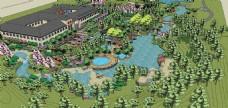 度假村模型