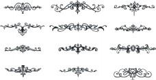 欧式边框装饰素材