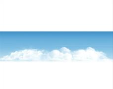 蓝天白云 天空
