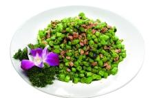 美食榄菜肉碎四季豆