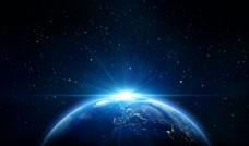 地球 蓝色背景 房地产背景
