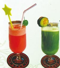 青瓜汁西瓜汁