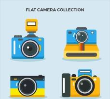 彩色平面多彩相機集
