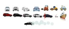 flash各种汽车造型