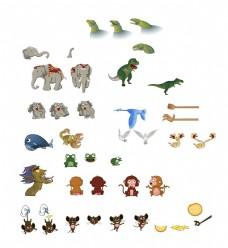 卡通小动物形象设计