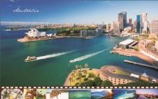 国际 澳大利亚 风景 背景