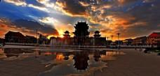 朝阳阁 风景