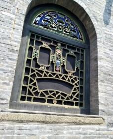 山西乔家大院门窗