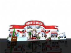 商品旅游展厅模型