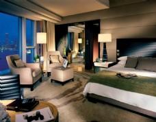 豪华五星级酒店套房实景图片