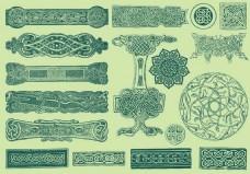 花纹装饰品