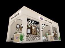 食品商品展厅展会模型