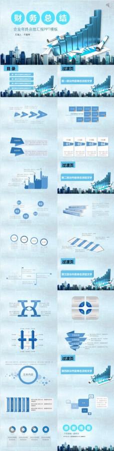 企业年终总结汇报ppt模板设计