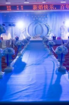 婚礼 现场布置 浪漫 温馨