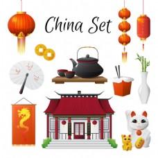 中国的旅游景点与传统文化载体