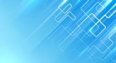 蓝色背景线条背景数码背景