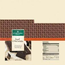 黑色巧克力包装设计展示