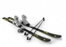 个性潮流滑雪器材