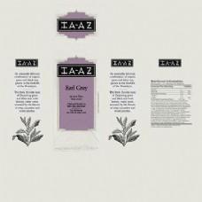 紫色外国杯子包装设计