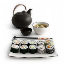 特色紫菜包饭组合套餐3d模型