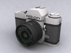 尼康数码相机3dsmax模型