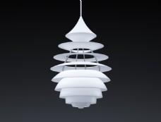 精致吊灯3d设计模型