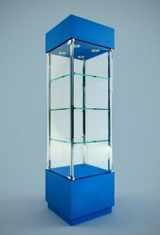 玻璃柜子模型