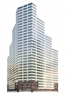 简约时尚特色高楼模型素材