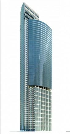 特色创意时尚大楼3d模型